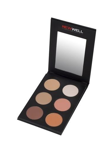 New Well New Well Counter & Blush Palette Allık Renksiz